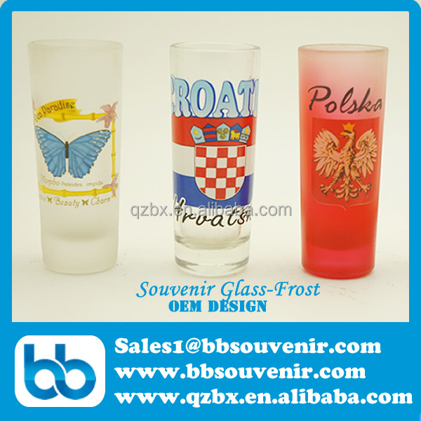 toursit souvenir shot glass