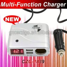 for ds lite crystal dual usb 2.4a car charger