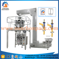 High speed 50grams to 1kg automatic weighing sachet food packaging machine