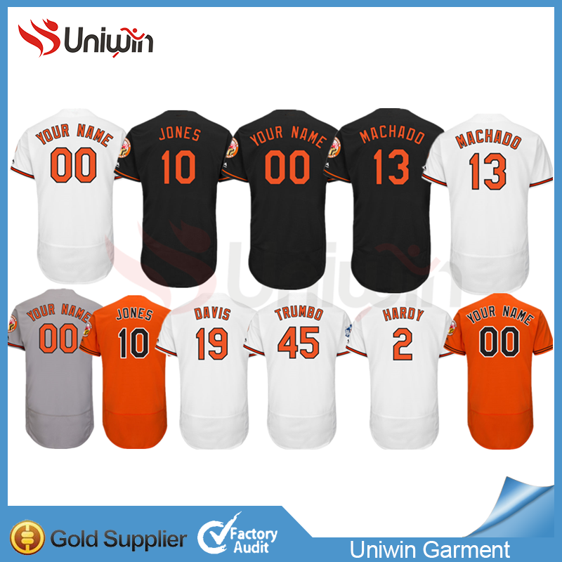 2017 new Wholesale cheap fashion custom baseball jersey