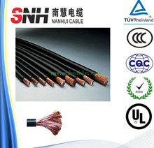 Copper wire Low voltage EPR/rubber insulated flexible cable and cords H07RN-F cable rubber coated flexible wire