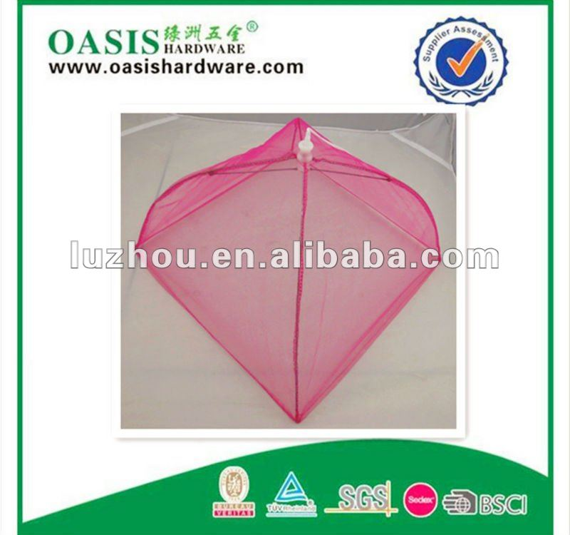 4 sides mesh polyester food cover Outdoor food covers pop up mesh food cover