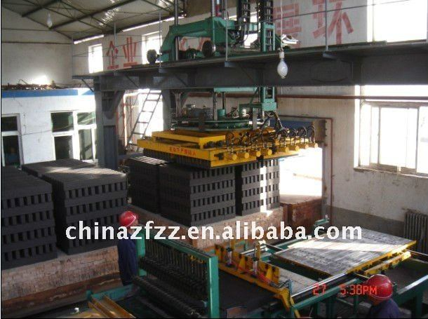 high efficient automatic brick setting machine
