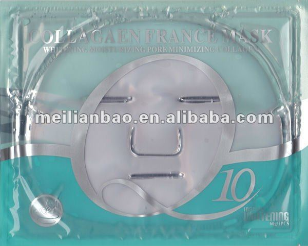 HOT SELL! Q10 collagen whitening facial mask