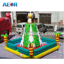 0.55mm PVC waterproof material mobile rock climbing wall,wall climbing holds,kids rock climbing walls
