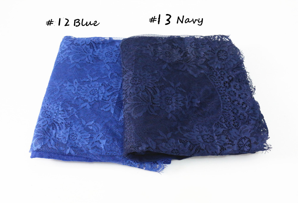 Factory Sale Lace Hijab Fashion Cotton Hijab Mix Color Muslim Hijab Wraps Big Size