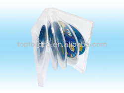 Super Clear DVD Case 22mm for 8pcs Discs