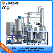 Vacuum distillation technology made in China engine oil cleaning machine