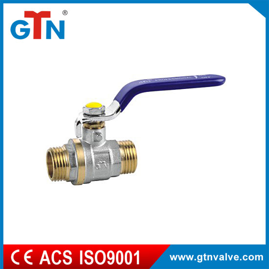 Professional manufacturer Male brass ball valve 1 inch water gas thread ART251V-A