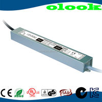 PFC EMC passed waterproof IP67 24v 1.25a 30W led power driver