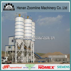 HZS used concrete batching plant