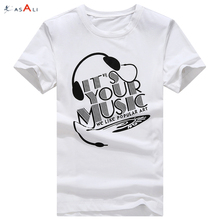 Summer custom white t-shirt men new style casual private label t-shirt manufacturer
