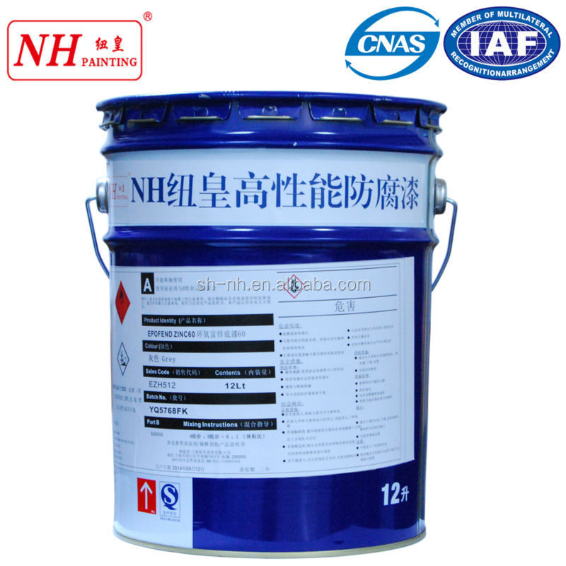Excellent resistant to cathodic protection chlorinated rubber coating