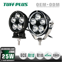 4 inch round aluminium spot and flood 12V led driving light automotive for off road vehicle