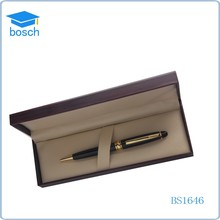 High-end item metal Calligraphy ball pen set pack in Box for classical gift set