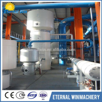 High quality used oil recycling plant Used motor oil/Crude Oil Refinery Distillation Machine with low impurity