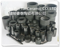 Factory price refractory silicon carbide sagger SiC graphite crucible