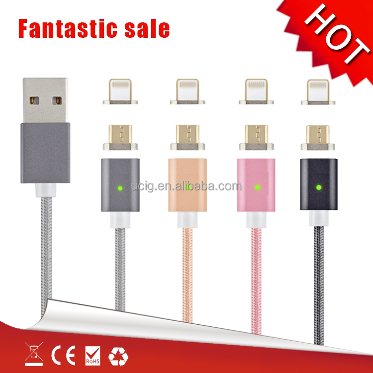 Magnetic usb cable charging and data sync magnetic charger