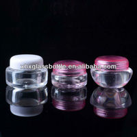 small mini size 2ml plastic jar cream jar for cosmetic foundation