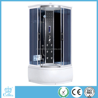 2015 hangzhou crown cheap price sliding tempered glass shower door