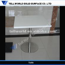 Fast food/restaurant chain store artificial marble dining table