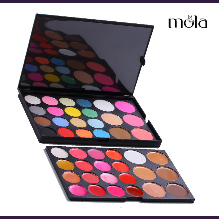 China suppliers 44 Color professional makeup sets, OEM factory price girls makeup set