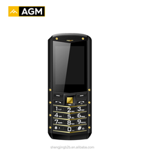 AGM Solo Agent-china supplier agm m2 old man video cell phone with golden color