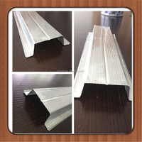 Galvanized steel furring channel for ceiling/material Hat channel