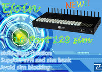 2014 New arrival Ejoin China 128 sim smart voip wifi sip phones 16 port