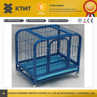large metal folding pet cages for dogs