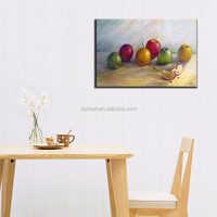Best Modern Style Handmade High Quality Abstract Fruit Painting Unique Canvas Fruit Oil Paintings For Kitchen And Dinning Hall