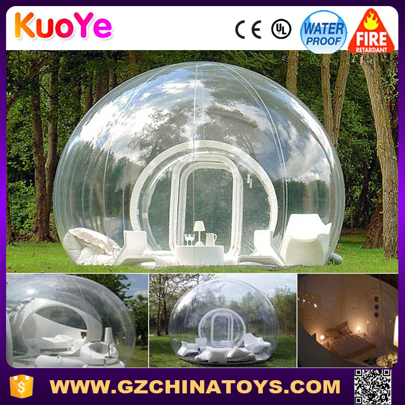 Outdoor Inflatable Bubble Room,Clear inflatable tent inflatable bubble camping tent