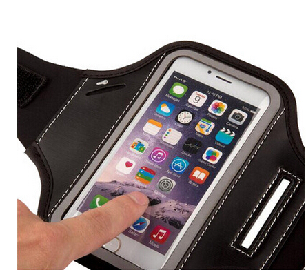 Neoprene Arm band cell phone holder for runing