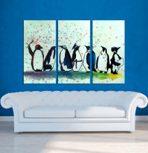 Decor Wild Animals Canvas Oil Paintings