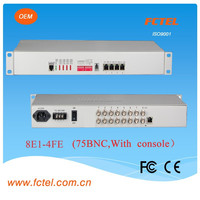 BNC TO RJ45 connect Protocol Converters - Serial 8Channels to100/1000M Ethernet Converter