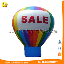 Giant Inflatable Advertising Helium Balloons Giant Advertising Cube Shape Cold Air Balloon