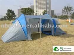 Camping tent family camping have two rooms