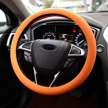 Silicone Car Steering Wheel Handle Cover Fashion Silicone vehicle Truck Car Steering Wheel Case Cover