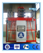SC200/200 Rack-and-pinion Threee-drive Double-cage Construction hoist elevator