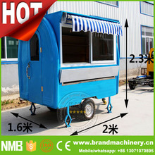 mobile food kiosk Towable Food Trailer For Sale, SNACK TRAILER, Rolling Food Cart