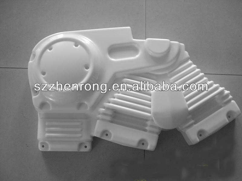 148special design thick vacuum ofrmed plastic autobike part.