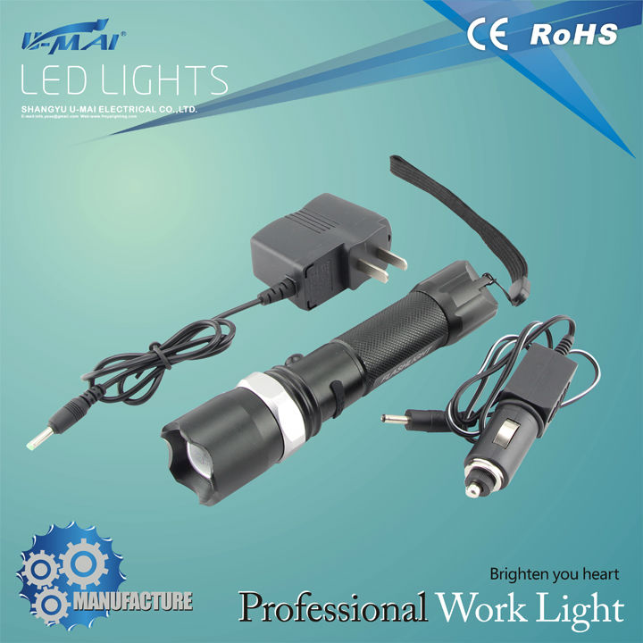 CE&RoHS approved powerful multifunctional long lasting time led flexible flashlight