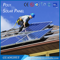 High efficiency industrial solar pane 200W 220w 250watt poly solar panel best price India