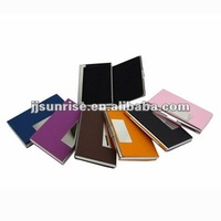 Metal Card Holder With Leather