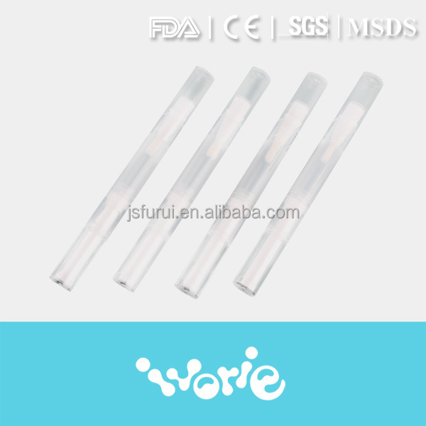 Professional Plastic teeth bleaching pen with package box