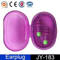 Industrial Noise Reduction Silicone Ear Plugs with String