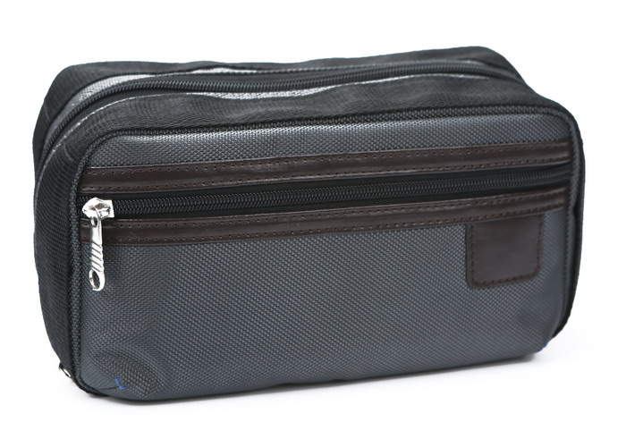 The Newest <strong>Travel</strong> Stain Resistant Men Oxford Makeup Bag Toiletry Kit