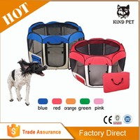2016 top up high quality tough cheap colorful dog playpen