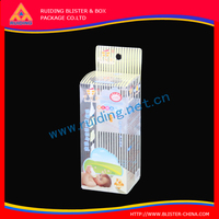 with printed PVC Plastic Folded Box Package smart wrap smart case