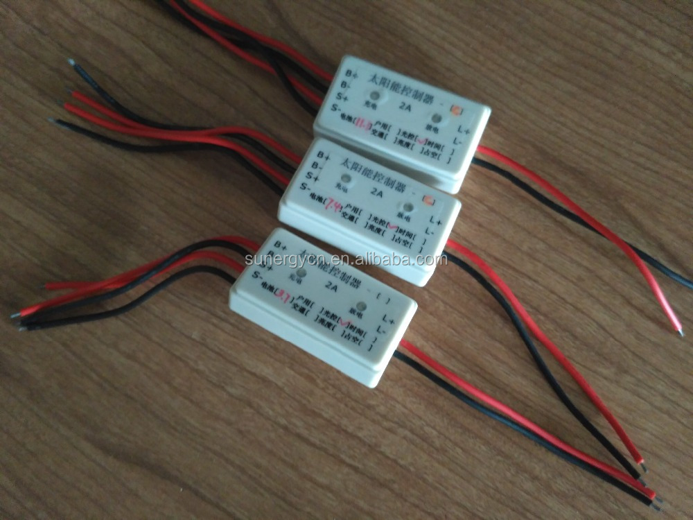 Lithium battery 2A solar charge controller